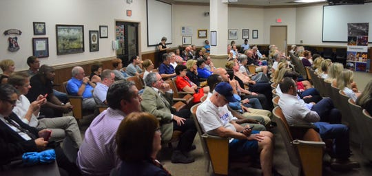 About 100 Franklin residents attended The Tennessean's Franklin candidate forum Monday, Sept. 23, 2019.