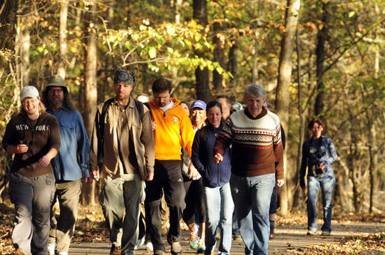 Serious hikers can earn bragging rights by making it through all 26 miles of the Long Hunter State Park Mega-Hike.