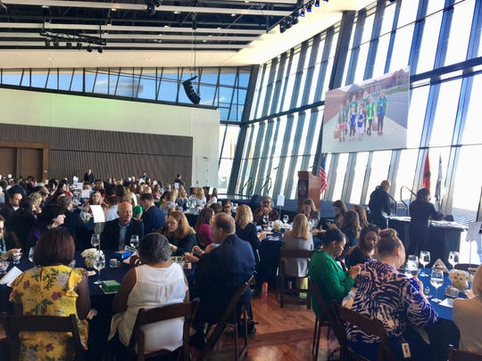 Guests gather during the 2019 annual Girl Scout Luncheon in downtown Nashville.