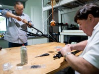 Naples-based company aims to replace common crutch, bring 'dignity' to injured