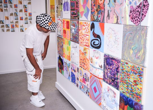 """""""Inspired by Quilts,"""" is at Studio Montclair through October 19, 2019."""