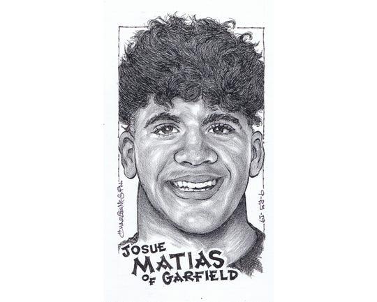Josue Matias, Garfield football