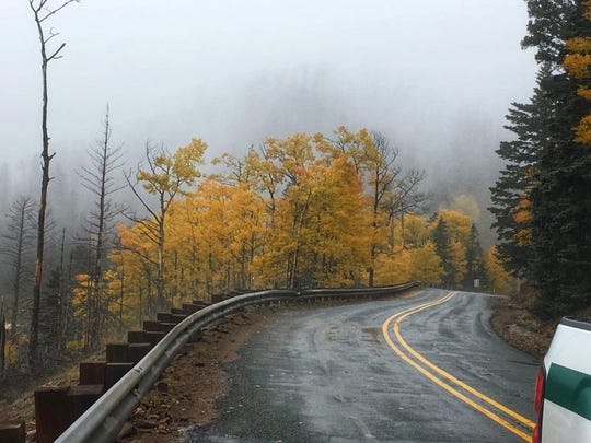 Photo of fall colors in Otero County. Courtesy photo.