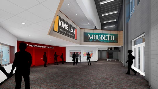 The Hawk will create a new and improved performing arts center out of the building's existing theater.