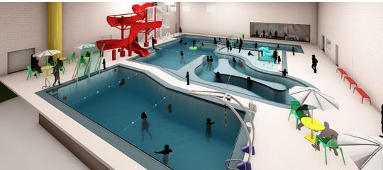 The building's notoriously small pool will get a big face lift.