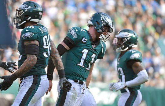 The Philadelphia Eagles and quarterback Carson Wentz have now lost two straight as they head to Lambeau Field on Thursday night.