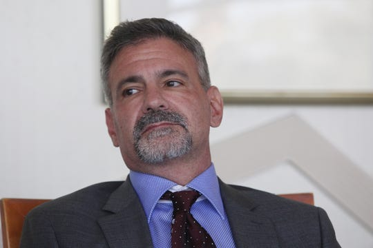 Peter Maietta is photographed at the Desert Sun offices in late September 2019.