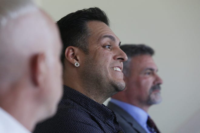 Adrian Alcantar is photographed at the Desert Sun offices in late September 2019.