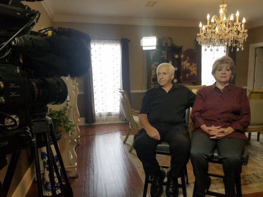"""John and Marsha Martelli are filmed from their Pensacola home during the first season of """"Being Martelli."""""""