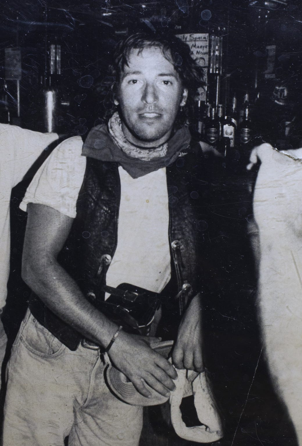 Bruce Springsteen ended up doing an impromptu performance after he walked into Matt's Saloon on Whiskey Row in Prescott on Sept. 29, 1989.