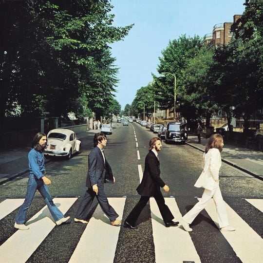 """The Beatles """"Abbey Road."""""""