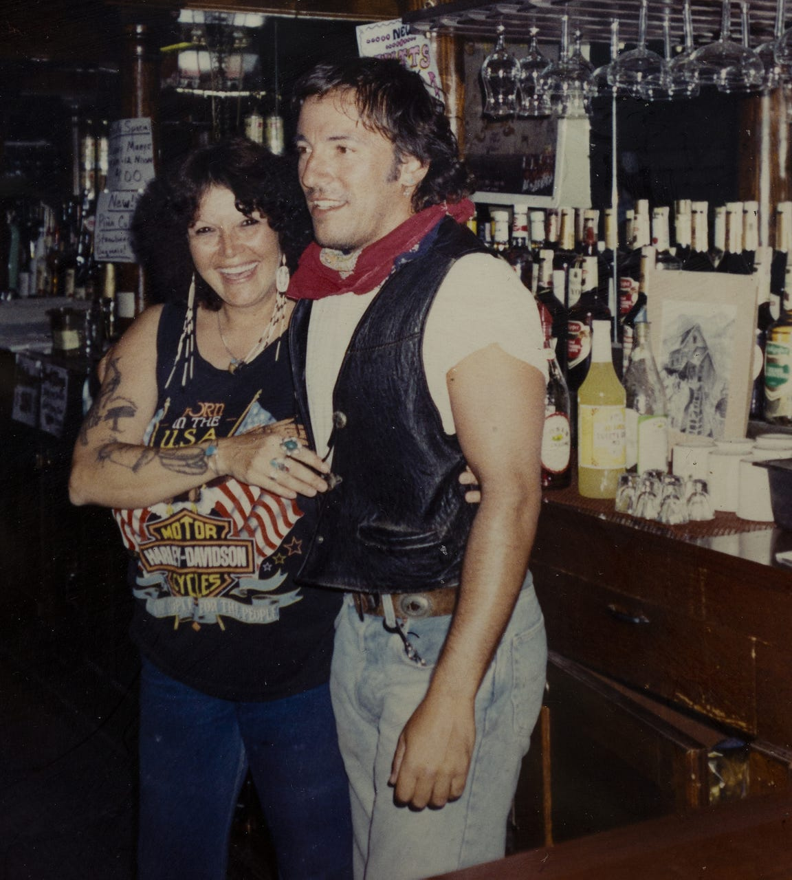"""Brenda """"Bubbles"""" Phillips was behind the bar 30 years ago at Matt's Saloon, her first week back after life-threatening health problems, when Bruce Springsteen walked in."""