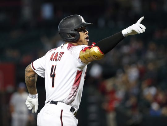 Arizona Diamondbacks second baseman Ketel Marte came very close to becoming the team's first player to win the batting title.