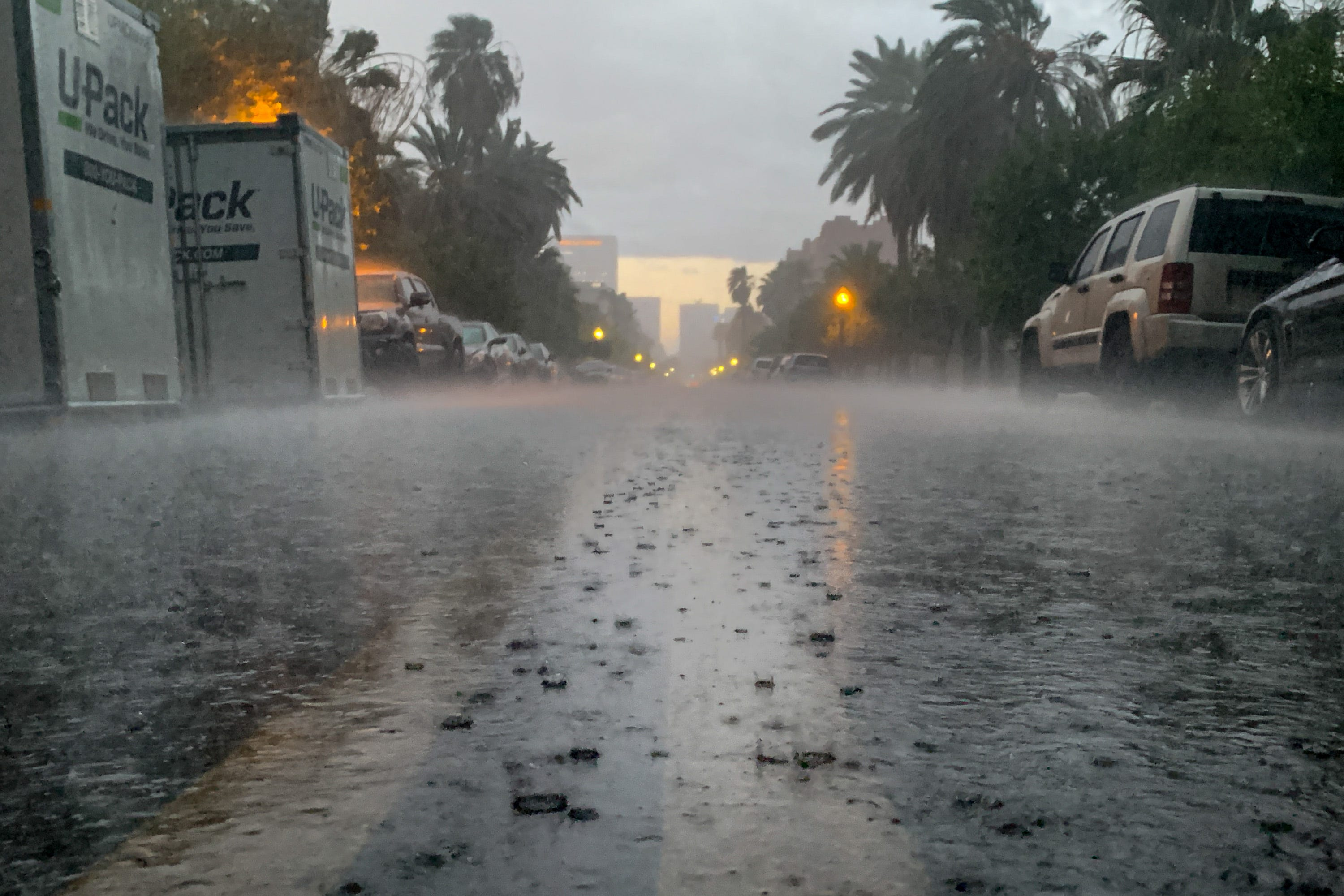 Lots of rain could soak Phoenix starting Tuesday evening
