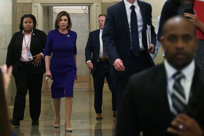 Nancy Pelosi, presidenta de la mayoría demócrata en la Cámara Baja del Congreso.