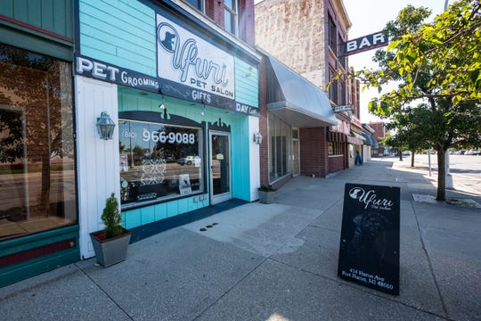 Ufuri Pet Salon is located at 414 Huron Ave. in downtown Port Huron.