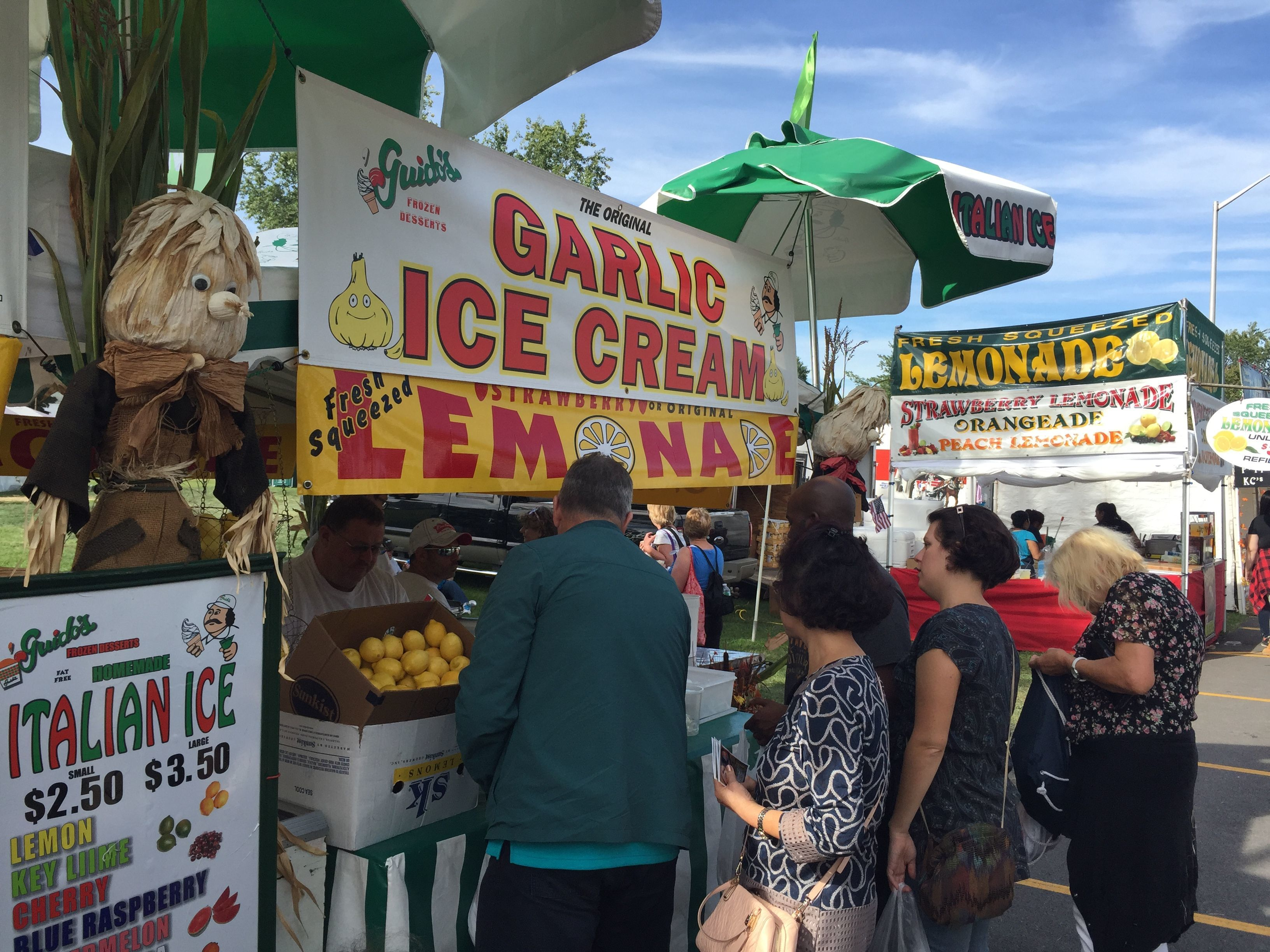 Garlic ice cream is one of the many garlic-infused foods to be found at the annual Hudson Valley Garlic Festival. This year's two-day event is set for Sept. 28-29.