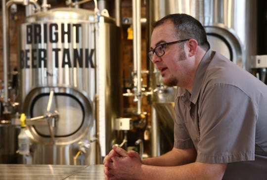 Hutch Kugeman is the head brewer at The Brewery at the CIA. The annual Brew U is set for Oct. 19 at the Hyde Park campus.