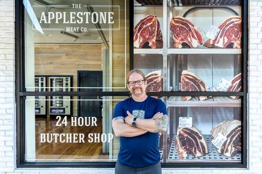 Applestone Meat Company offers  serve-yourself vending machines stocked with vacuum-sealed packages of everything from Porterhouse steaks, short ribs and rack of lamb to hamburger meat and home-made sausages.
