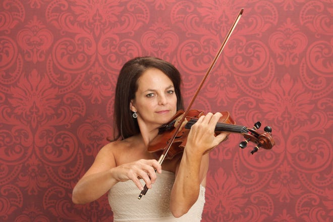 Richmond Symphony Orchestra Concertmaster Mari Lunde