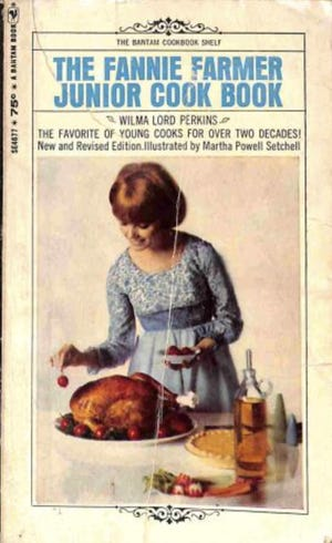 The Fannie Farmer Junior Cook Book by Wilma Lord Perkins.
