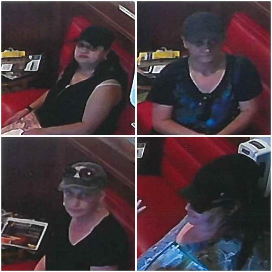 Owners of the Golden Bowl released photos of six women who entered the business on Friday and stole more than $1,000 from the restaurant, according to police.