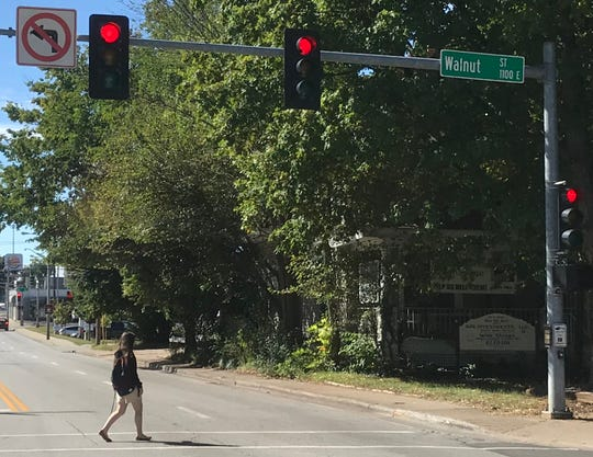 Answer Man: Why can't you make a left turn off of southbound National Avenue onto Walnut Street?