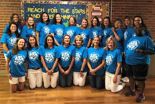 The teachers and staff of Faith Presbyterian Preschool and Kindergarten