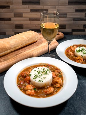 Brown roux is the foundation of roux-based New Orleans dishes such as étouffée and gumbo.