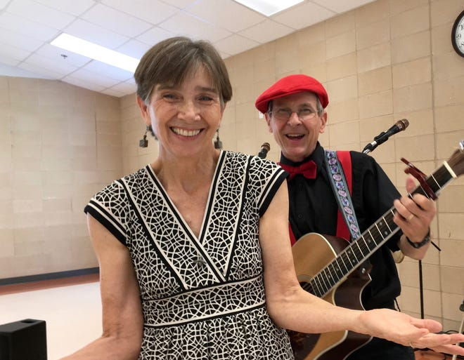Hot Tamale is made up of Adrian Fogelin and Craig Reeder, who will perform a kids show at My Favorite Books.