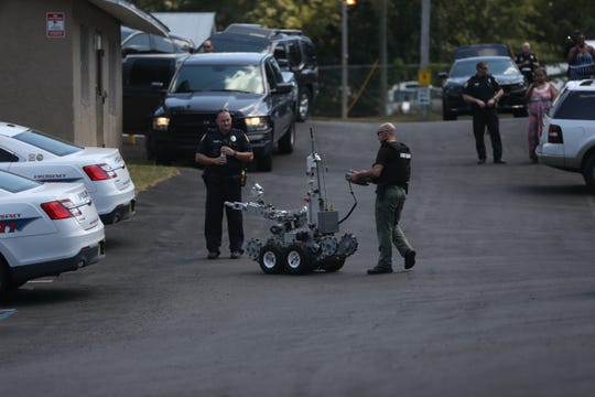 The Tallahassee Police Department responded to Kona Apartments in the 1600 block of McCaskill Avenue at 10:22 a.m. Tuesday for a disturbance call. The suspect they were looking for barricaded himself in an apartment.