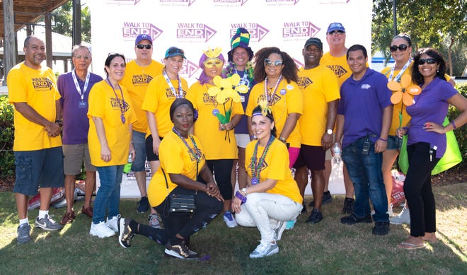 Alzheimer's Association Walk to End Alzheimer's Planning Committee prepares for Sept. 28 walk in Port St. Lucie. Andele Ansola-Lawrence is chair of the Treasure Coast Walk to End Alzheimer's.