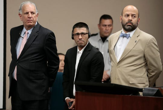 A jury ruled on the punishment phase of Joel Garcia Jr.'s intoxication manslaughter trial  in 210th District Court Tuesday. Garcia was convicted Thursday in the drunk driving deaths of brothers Joshua and Isaiah Deal and Shannon Nicole Del Rio on Christmas Eve 2014.