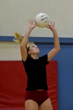 Tess Holbert had 43 assists in Oxnard's first-round victory Thursday night.