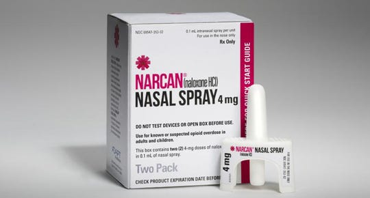 Narcan is available as a nasal spray version of naloxone, a medication used help counteract opioid overdoses.