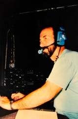 In this 2010 file photo, Gary Benjamin works the sound booth at the Ice House Theatre.