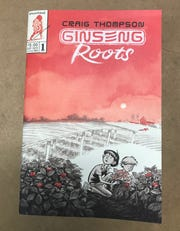"The cover of the first in Craig Thompson's series of comic books, ""Ginseng Roots."""