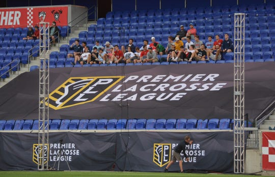 Professional game presentation has been a priority of the PLL from the start.  It was impossible to miss the league and sponsor signage at Red Bull Arena on Sept. 14, 2019.