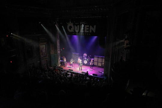 Fans fill the floor of The Queen earlier this month for Get the Led Out, a Led Zeppelin tribute band.