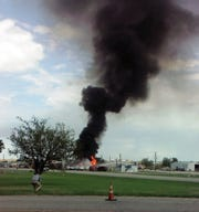 The Wichita Falls Fire Department responded to a call for mutual aid to help with a tanker truck fire at Joe's Kwik Stop in Windthorst Tuesday just before 2 pm. Highway 281 is closed in both directions as crews work to contain the fire.