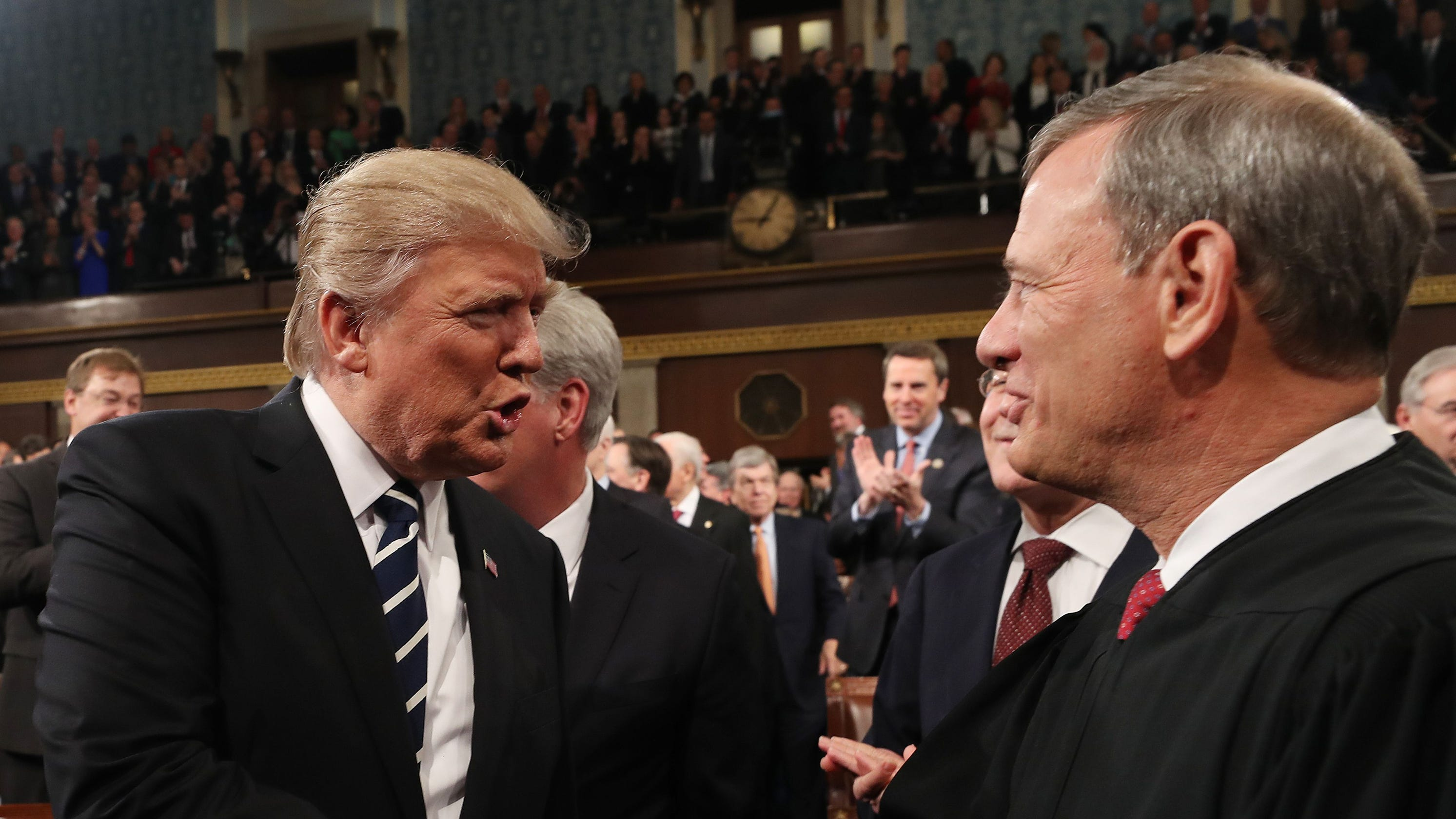 His Supreme Court divided like the country, Chief Justice John Roberts prepares for outsized role as umpire
