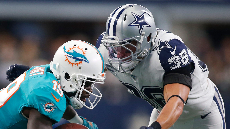save off 0fc32 dd67c Dallas Cowboys: Jeff Heath defends brutal hit on Dolphins ...