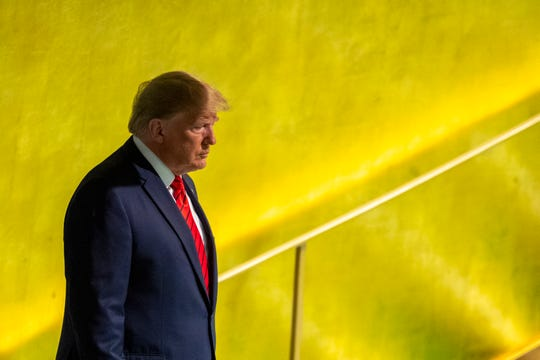 President Donald Trump is attending his third United Nations General Assembly.