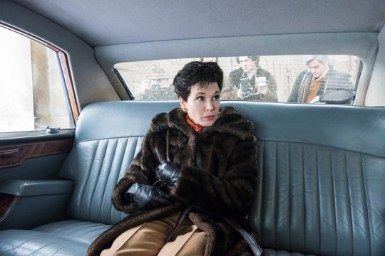 """Renee Zellweger plays Judy Garland near the end of her life in the biopic """"Judy."""""""