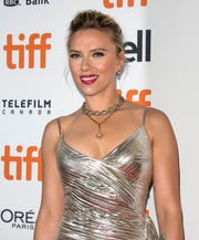 Scarlett Johansson, shown at the 44th annual Toronto International Film Festival, pulled out of a movie after pushback when she was cast as a trans character.