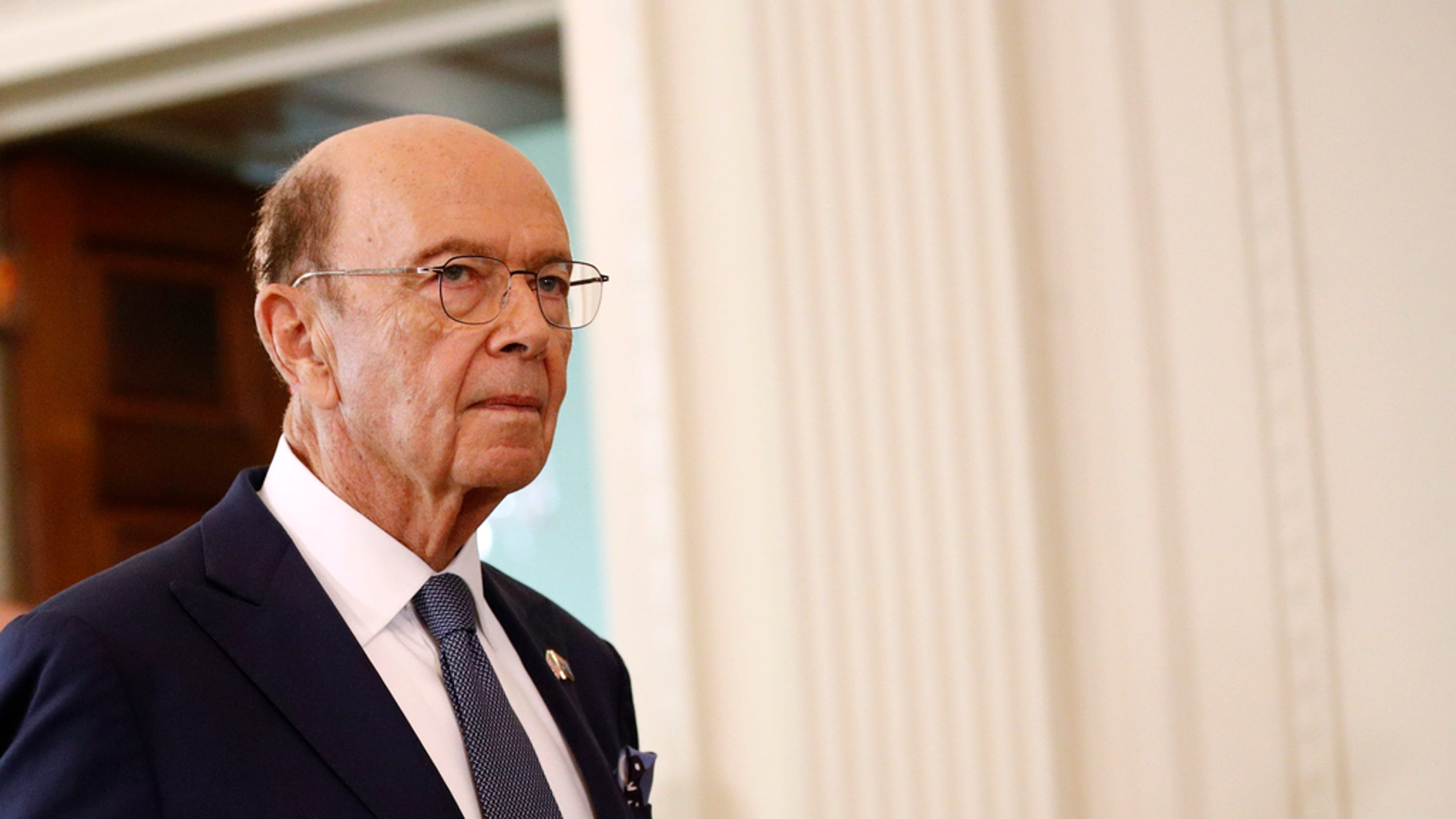 Westlake Legal Group 82c51759-216c-4af9-911d-9887759e58d5-AP_Trump_US_Australia_State_Visit 'Somebody wake up Wilbur Ross!': Social media users say Commerce chief asleep during Trump UN speech