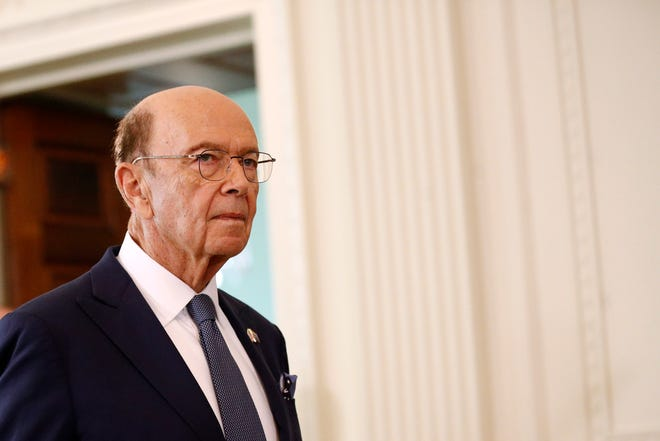 """Commerce Secretary Wilbur Ross, seen here at the White House in September,  said the Malcolm Baldridge award """"embodies the competitive spirit and commitment to excellence that fuels our economic resurgence and drives our country forward."""""""