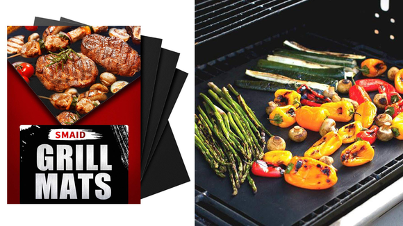 It's like a baking sheet for your grill.