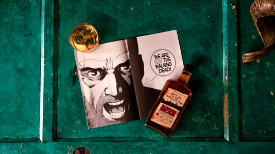 There's a new whiskey to toast the recent ending of 'The Walking Dead' comic series: The Walking Dead Kentucky Straight Bourbon Whiskey, a 94 proof limited-edition whiskey to be released in October with a suggested price of $34.99 for a 750 milliliter bottle.