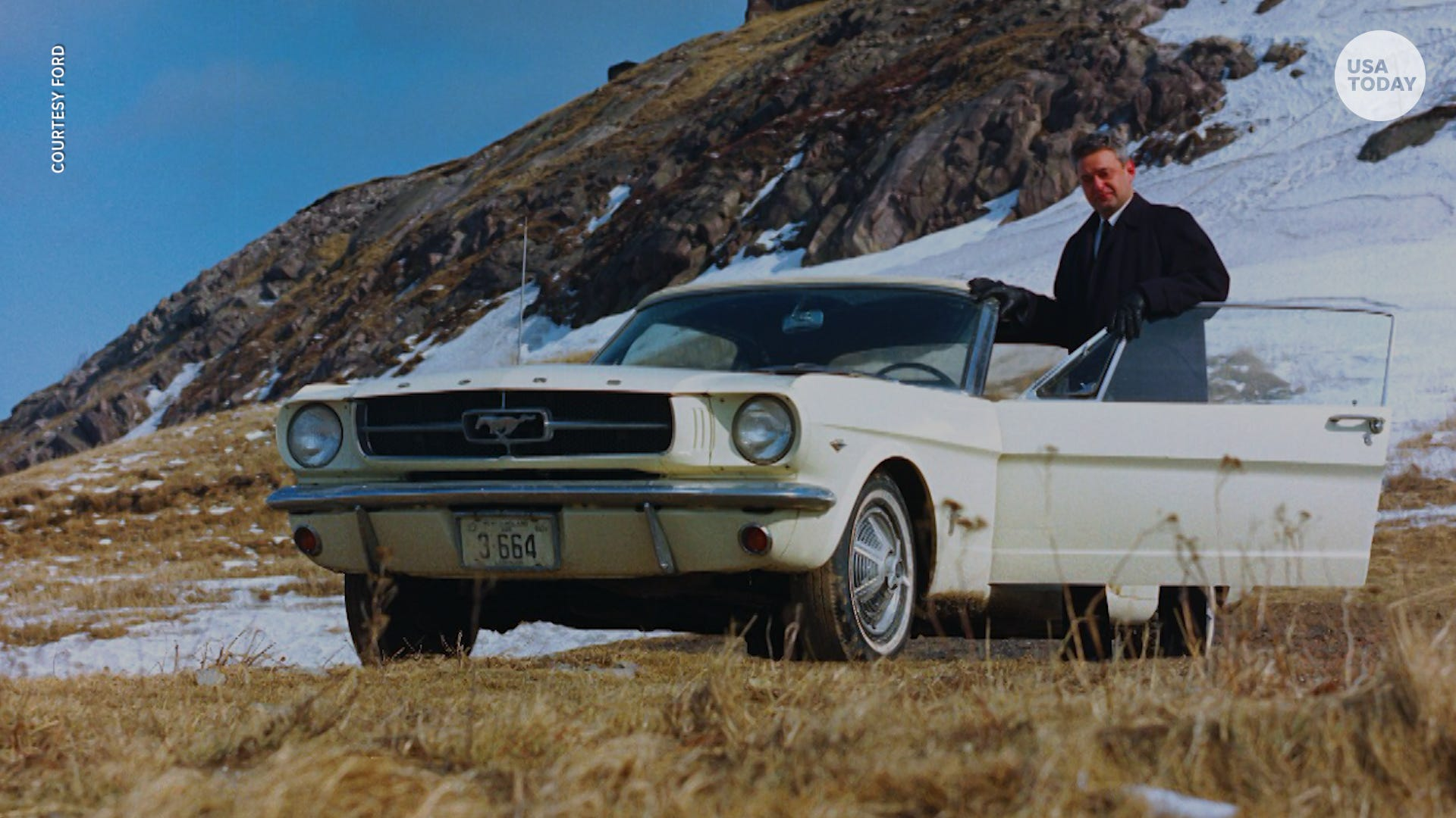 First Mustang ever built was never meant to be sold